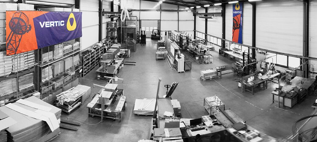 Manufacturing zone VERTIC
