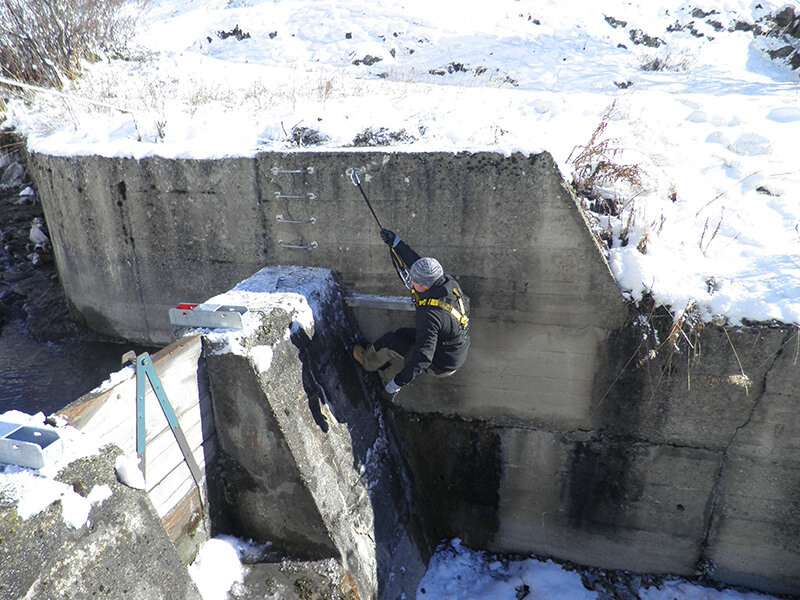 Single Anchor - fall protection system in natural environments