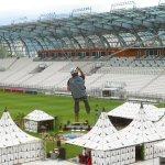 Bollaert stadium in Lens - VERTIC's BATILIGNE horizontal lifeline system and ALTILISSE guardrails