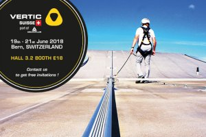 VERTIC Switzerland invites you to the Safety at work trade fair in Bern!