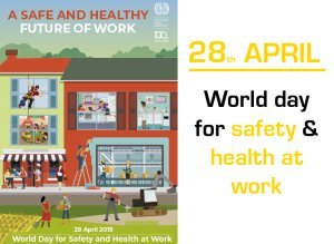 UK-28 avril journée mondiale santé sécurité au travail